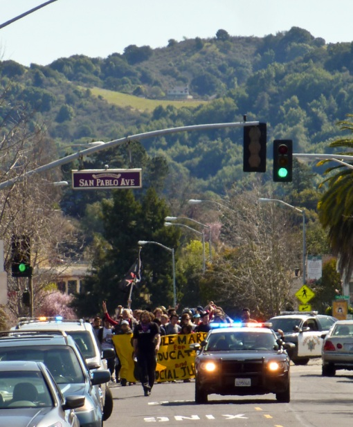 March arrives in Pinole